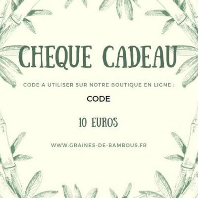 E-CHEQUE CADEAU