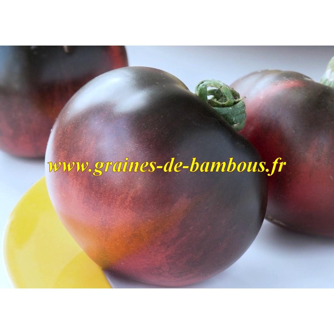 Tomate couleur bleu indigo apple graines de bambous eu