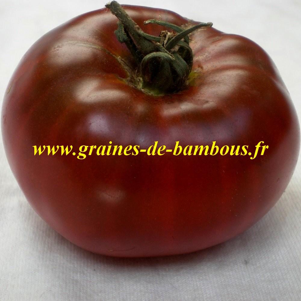 Tomate noire graines de bambous eu